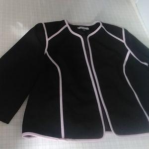 Blazer Jones Studio Black and Pink size 20W
